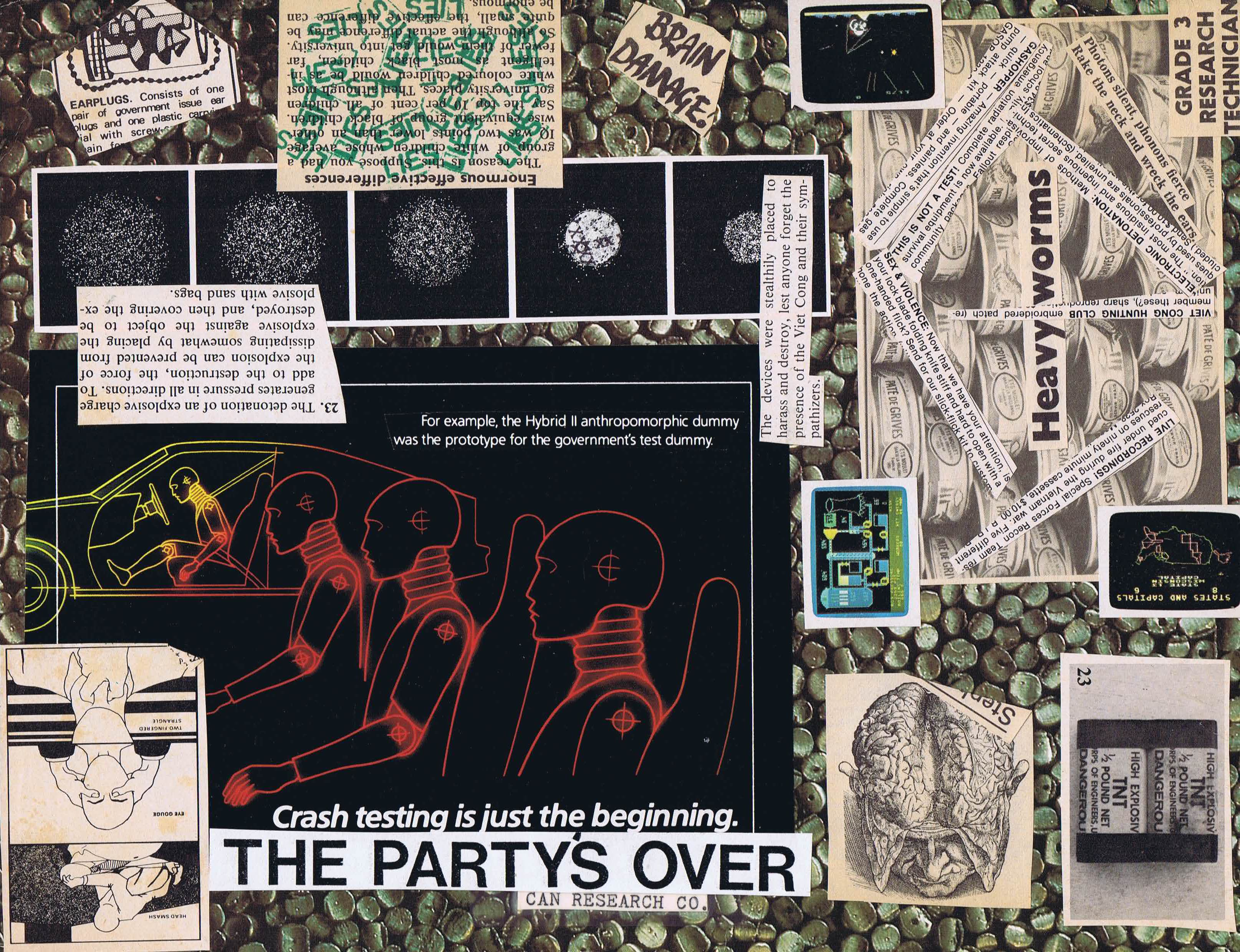 The Partys Over Collage Mailout Master Alternative Toronto Carvin Schematics Files