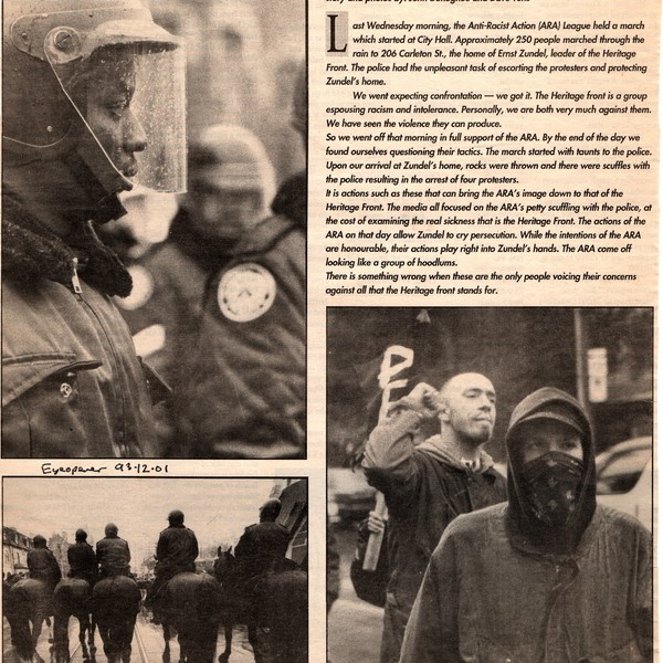 Is the Enemy of my Enemy my Friend? newspaper clippings