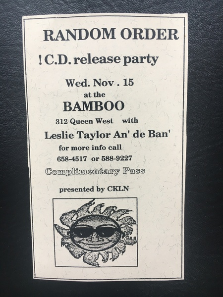 1st CD Release Party