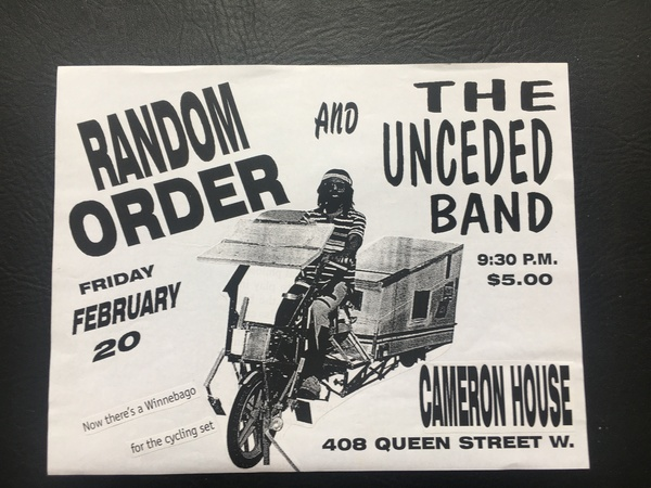 Random Order Show at the Cameron House