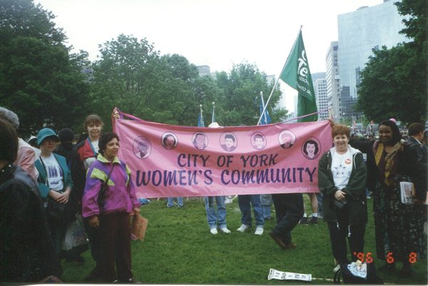 Women's March Against Poverty - City of York Women's Community