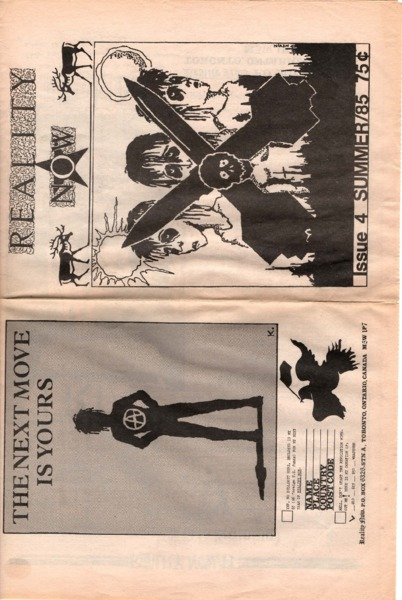 Reality Now, Issue 4, Summer 1985