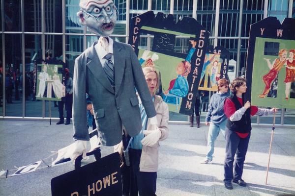 C.D. Howe Puppet