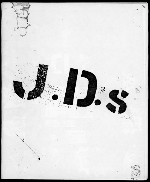 """J.D.s"" Issue 1"
