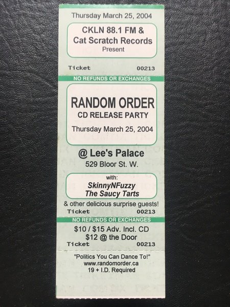 2nd CD Release Party