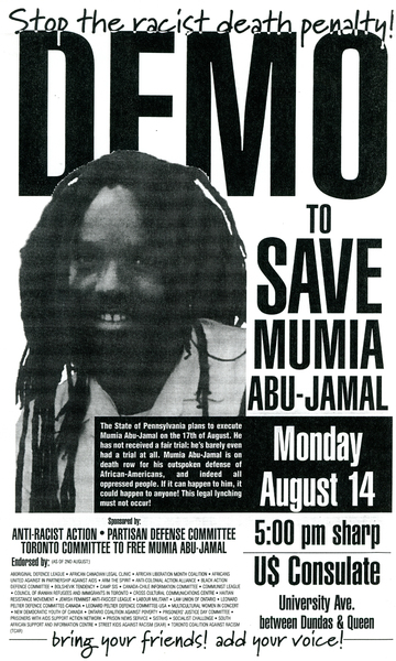 Demo to Save Mumia