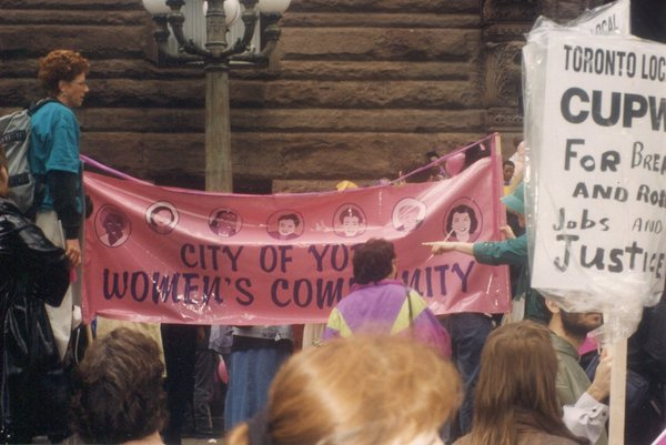 Women's March Against Poverty - CUPW and City of York