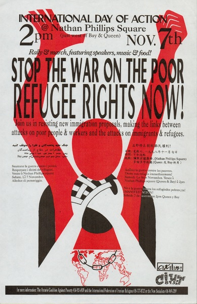 Stop the War on the Poor, Refugee Rights Now!