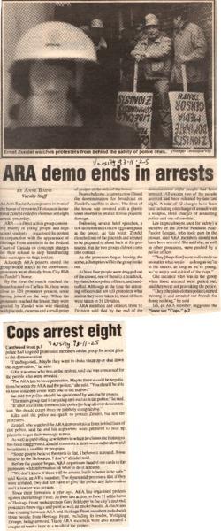 ARAZundelArrestsVarsityNovember251993.PDF