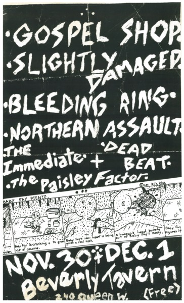 Punk/hardcore shows poster