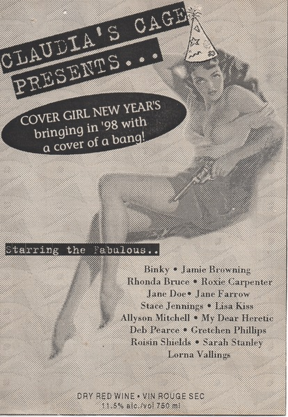 Claudia's Cage Presents... Cover Girl New Year's