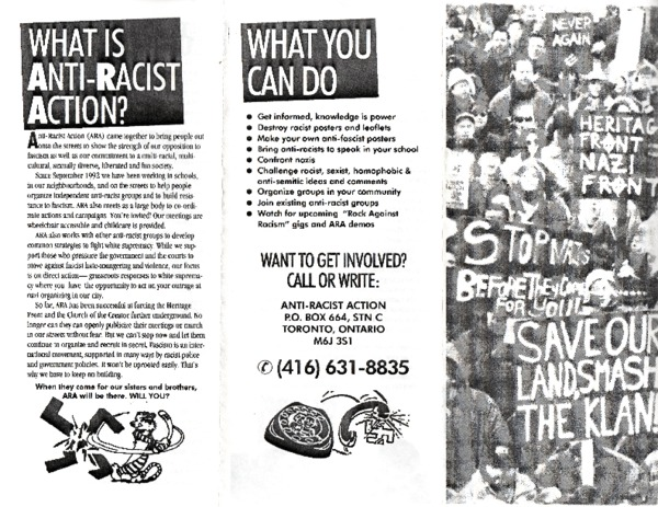 Anti-Racist Action Pamphlet
