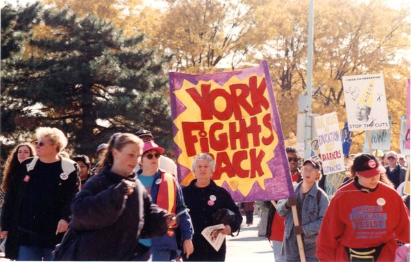 Day of Action City of York - York Fights Back