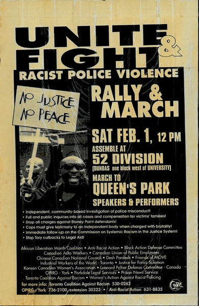 Unite & Fight Racist Police Violence