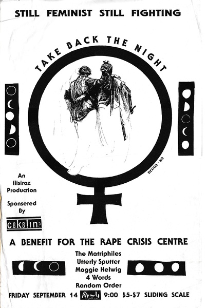 Take Back the Night: A Benefit for the Rape Crisis Centre
