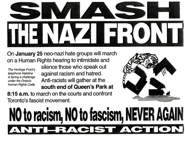 Smash The Nazi Front poster