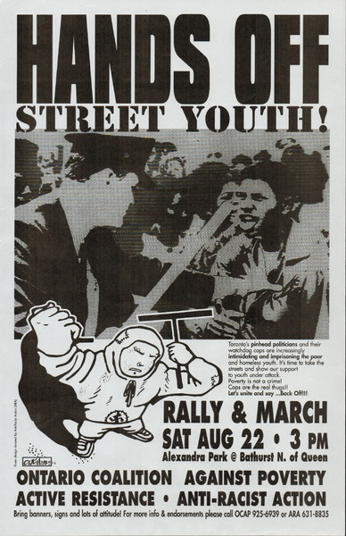 Hands Off Street Youth!
