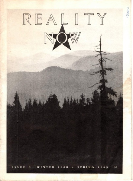 Reality Now, Issue 8, Winter 1988-Spring 1989