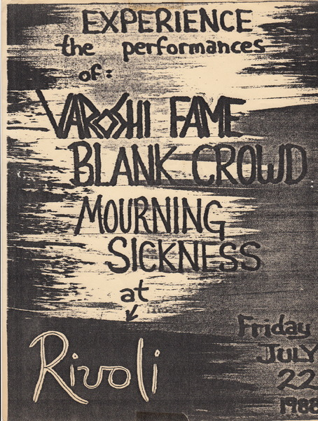 Varoshi Fame, Mourning Sickness and Blank Crowd show