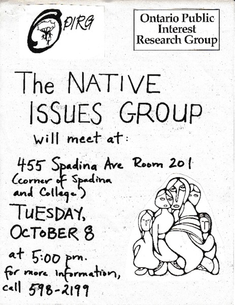 Native Issues Group Meeting