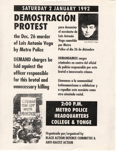 Police Brutality Protest poster