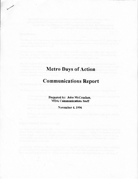 Metro DOA communication report.pdf