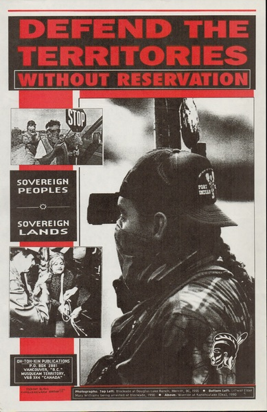 Defend the Territories Without Reservation