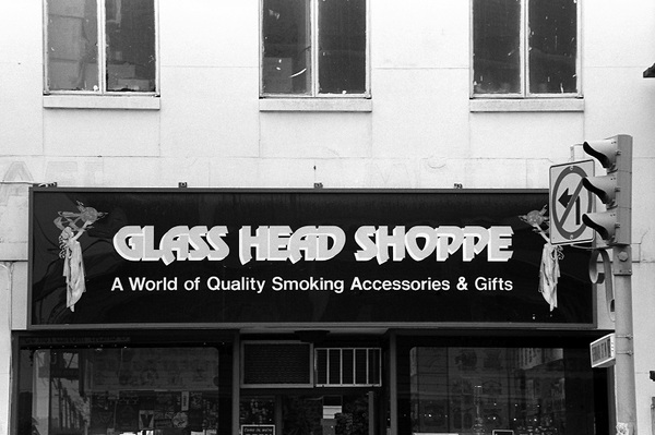 Glass Head Shoppe, Yonge Street, 1981